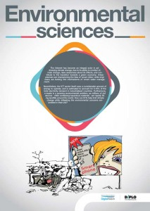 DIPLO foundation Plakat Environmental sciences